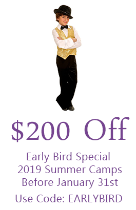 $200 Off Early Bird Special 2019 Summer Camps Before January 31st