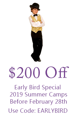 $200 Off Early Bird Special 2019 Summer Camps Before February 28